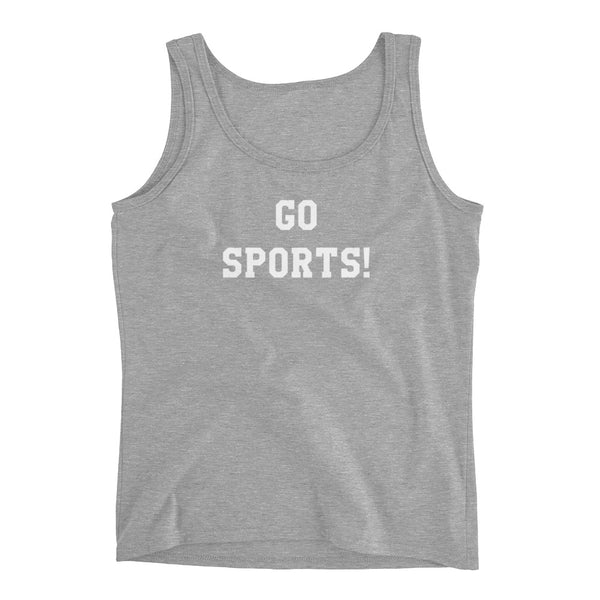 Go Sports Funny Ladies Tank Top - Living Word Designs, Inspirational Home Decor
