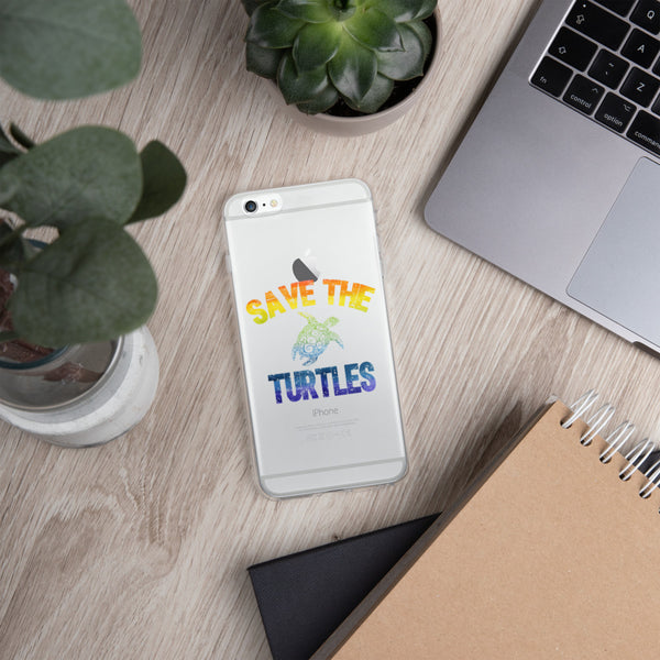Save the Turtles iPhone case, VSCO Girl Phone Case (available for all iPhones 6 and newer!)