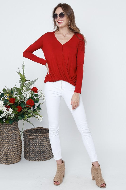 Amelia Long Sleeve Top - Multiple Colors