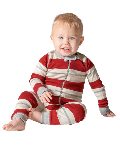 Country Stripe | Infant Union Suit