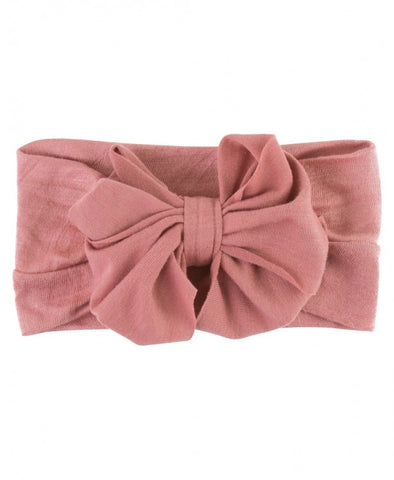 Mauve - Big Bow Headband