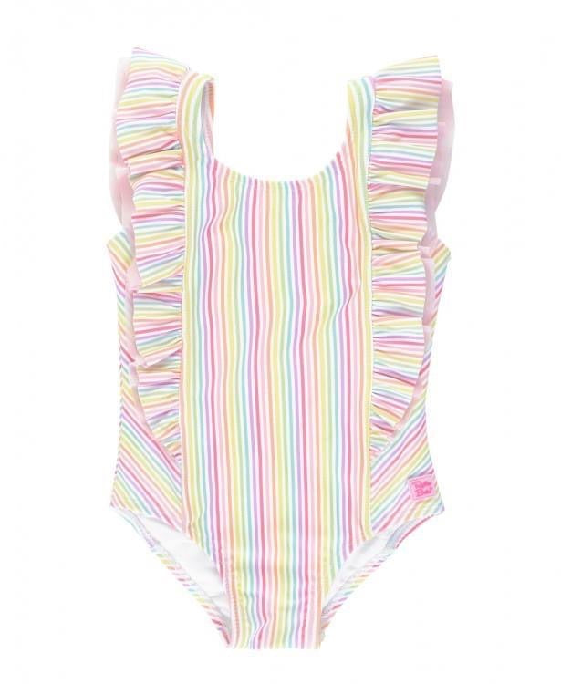 Rainbow Stripe Swim