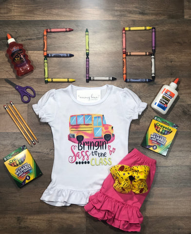 Sass to the Class - Back to School SALE