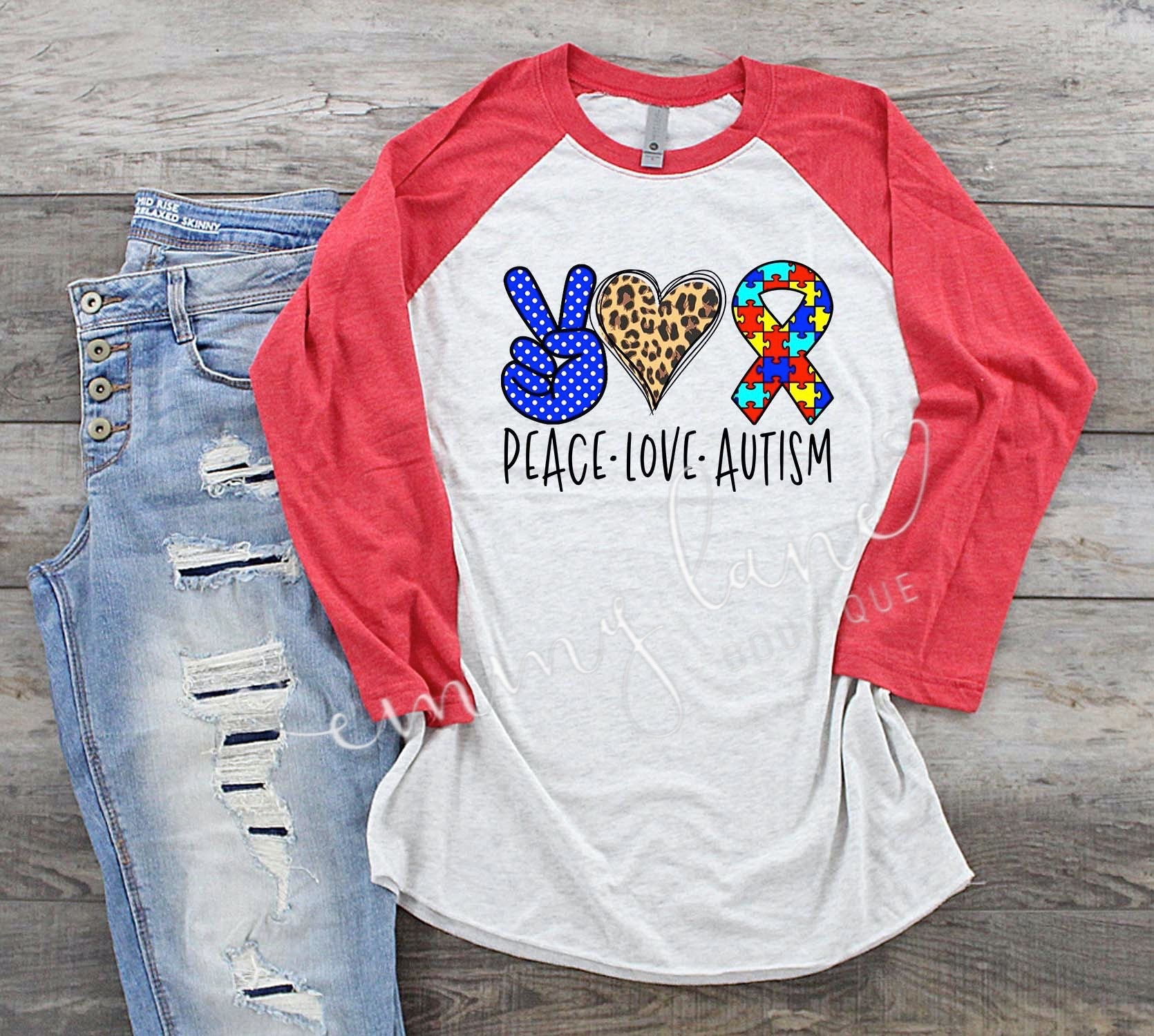 Peace - Love - Autism