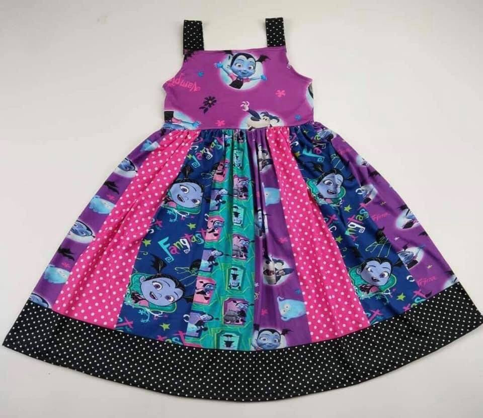 Vampirina Patchwork Dress