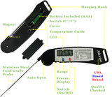 Alexius Instant Read Digital Meat Thermometer for BBQ, Grilling, etc