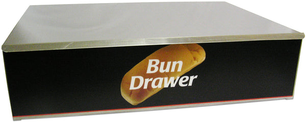 Bun Box for Hotdog Roller Grills