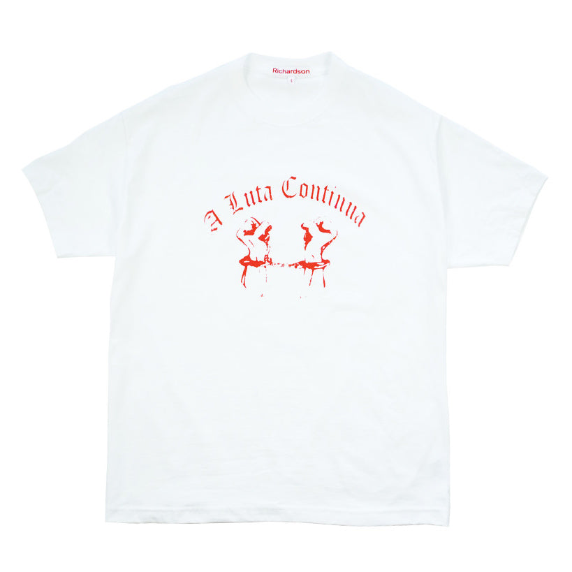 Chained Hands Tee (White w/ Red) - Richardson