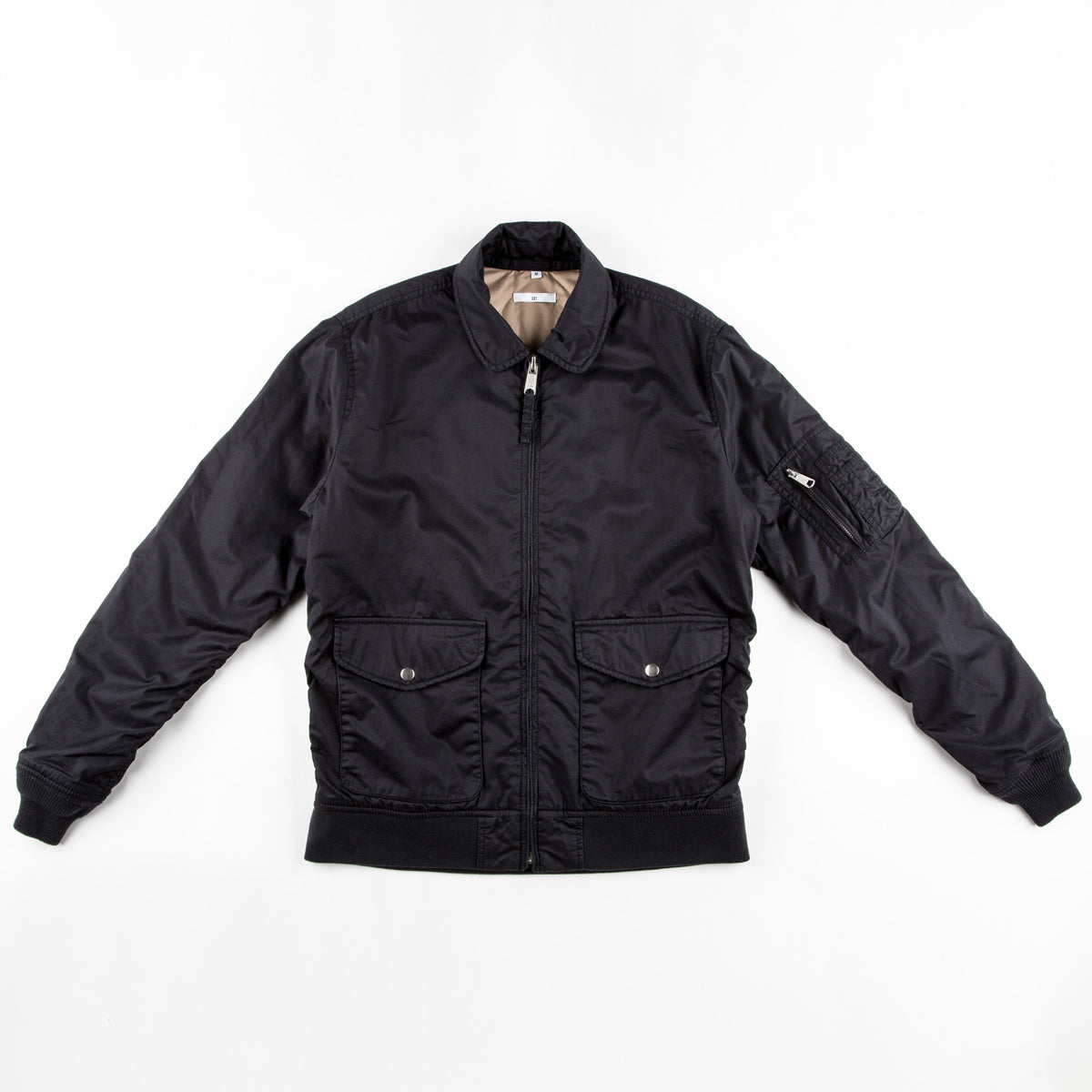 Flight Jacket (Midnight Blue) - 321