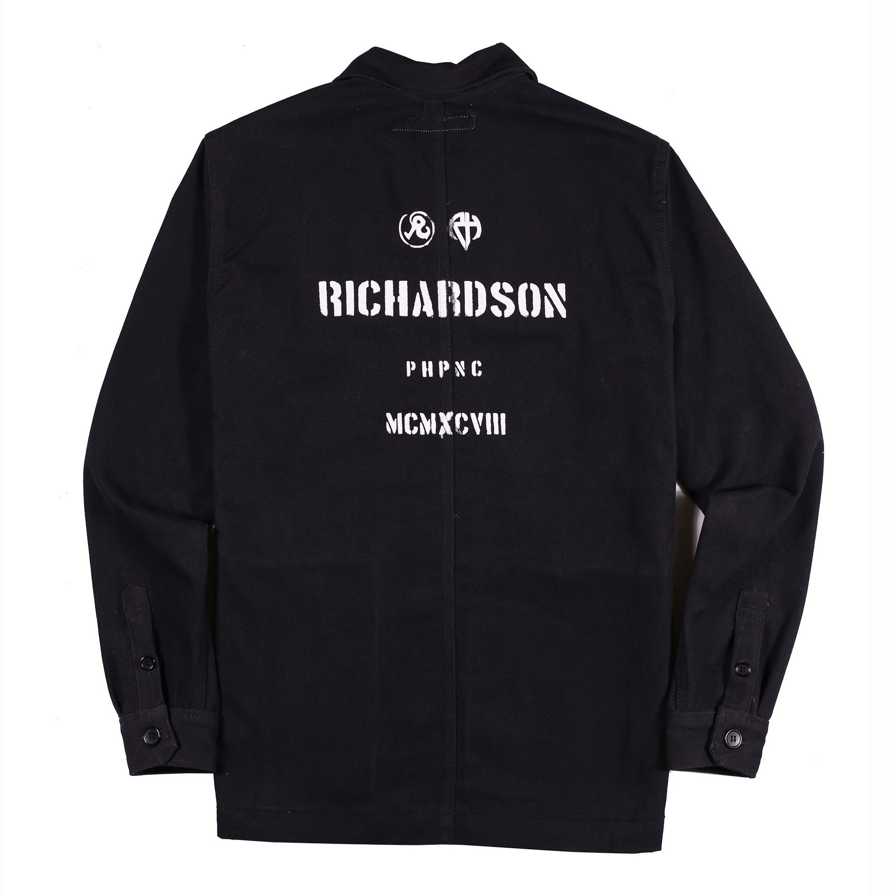 Work Shirt (Black) - Richardson
