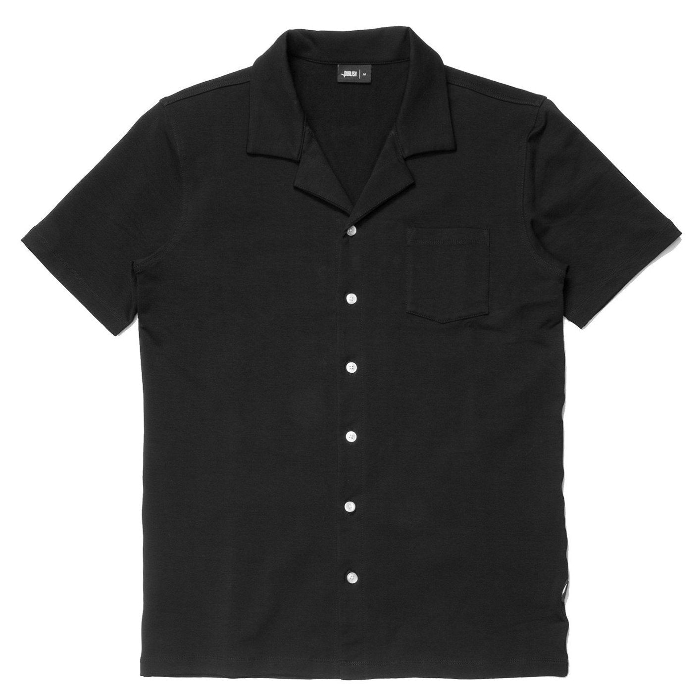 Feregrino Button Up - Black