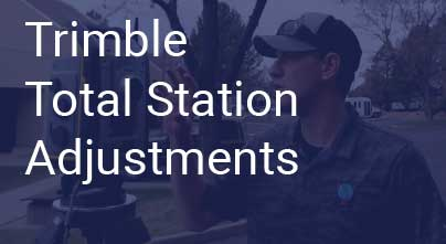 Total Station Adjustments - Calibrations and Collimations