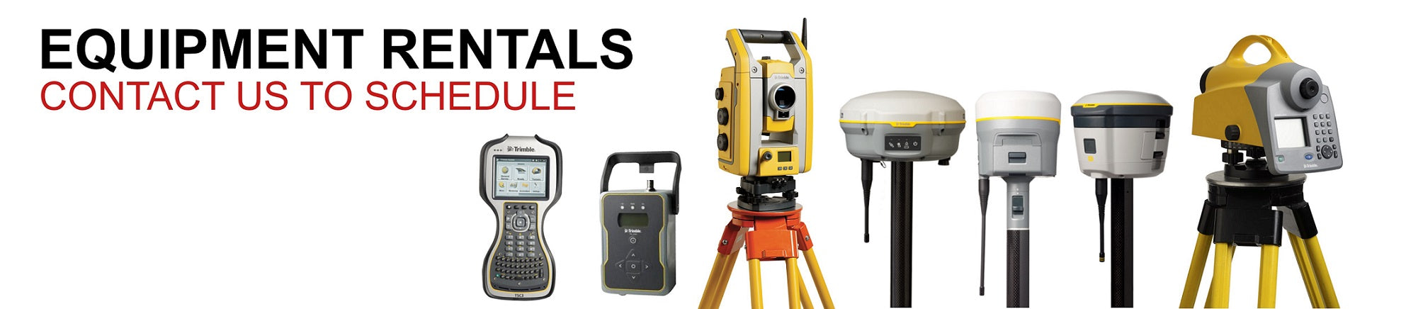 Land Survey Equipment Rental Seattle