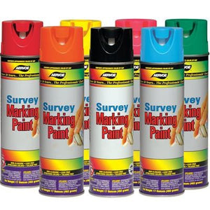 Spray Paint - Case of 12-Vectors Land Survey Super Store-Red Paint - Case of 12-Vectors Inc.