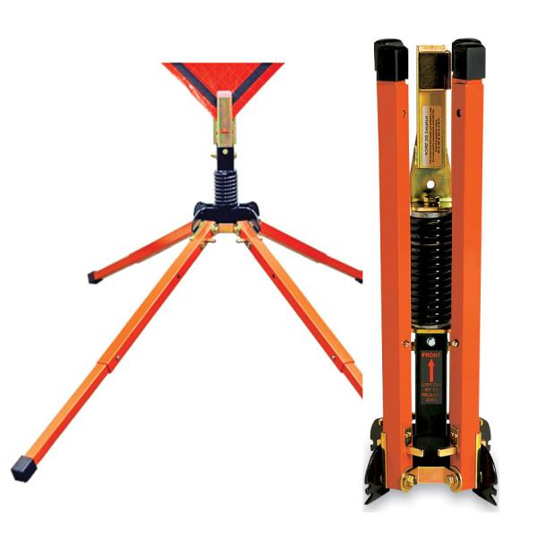 Spring Steel Sign Stand - Telescoping Legs 4022300