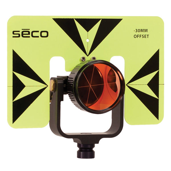 SECO 30/0 mm Premier Prism Assembly with 6 x 9 Inch Target PN 6402-06-FLB