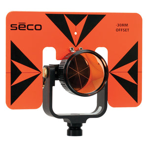 SECO 30/0 mm Premier Prism Assembly with 6 x 9 Inch Target PN 6402-06-FOB