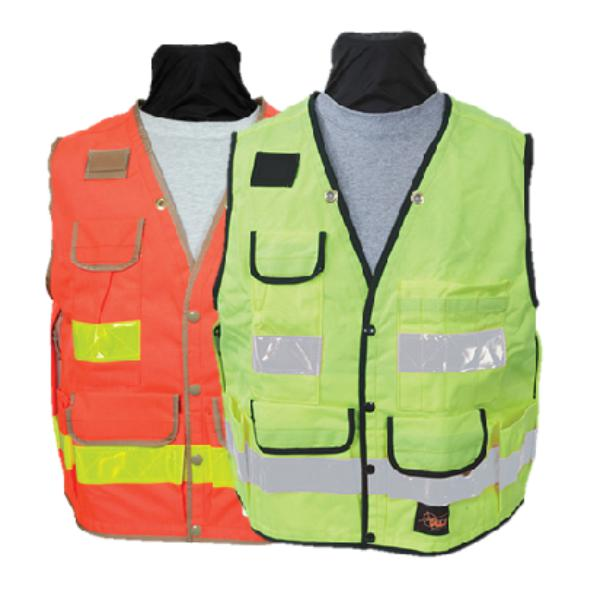 SECO All Temperature Class 2 Safety Utility Vest 8063-54-FLY