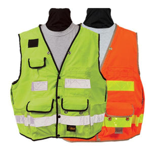 Seco Light Weight Safety Utility Vest-Vest-Vectors Inc.-Vectors Inc.