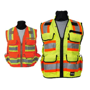 Seco Surveyors Safety Vest, ANSI/ISEA Class 2-Vest-Vectors Inc.-Vectors Inc.