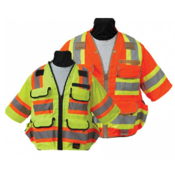 SECO ANSI/ISEA Class 3 Safety Utility Vest 8365-54-FOR