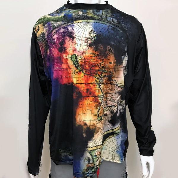 Vectors Inc. Atlas Long Sleeve Technical UPF 50 Shirt