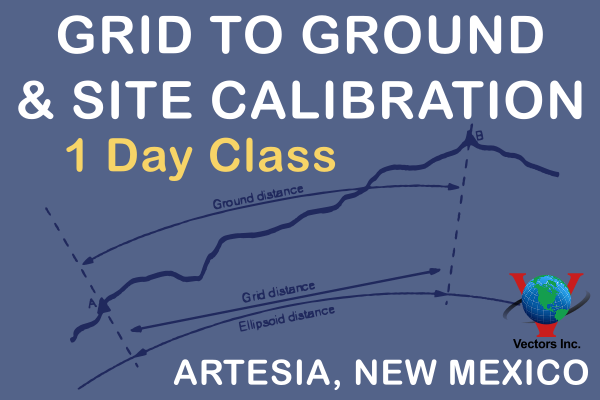 Grid to Ground and Site Calibration Class Arteisa NM