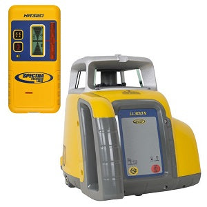 Spectra Precision LL300N Laser Level with HR320