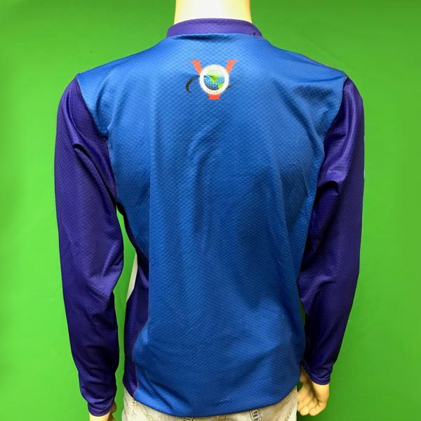 Vectors Inc. Logo Long Sleeve Technical UPF 50 Shirt