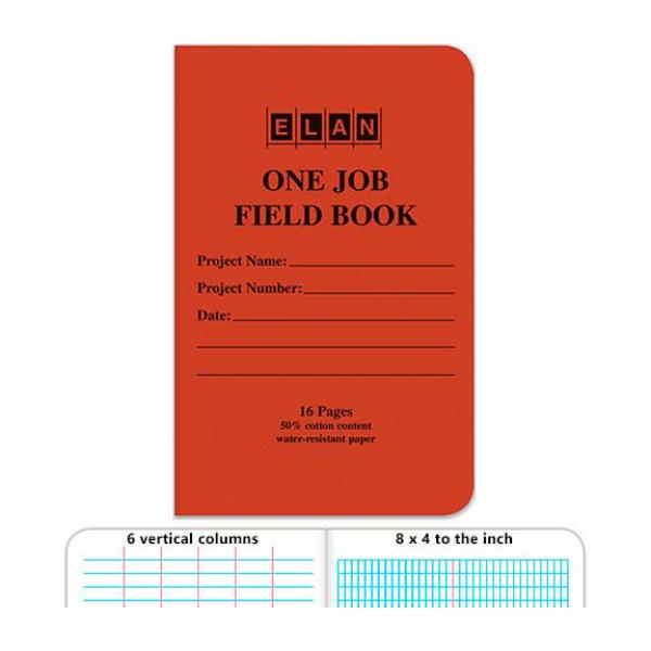 ELAN One Job Field Book