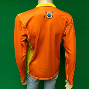 Vectors Inc. Hi-Viz Orange Long Sleeve Technical UPF 50 Shirt