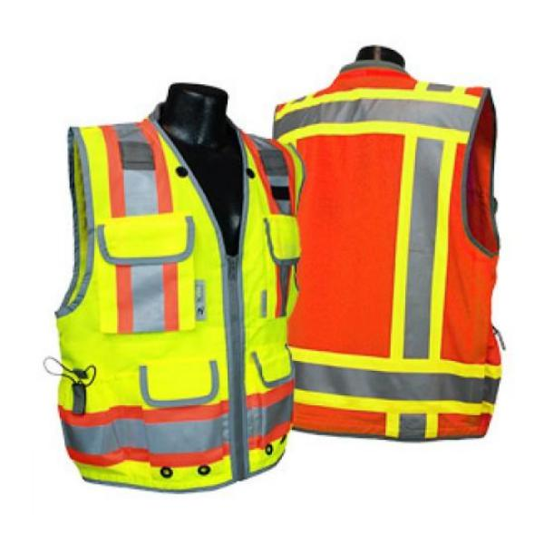 Radians Class 2 Heavy Woven Two Tone Vest-Vectors Inc.-Vectors Inc.