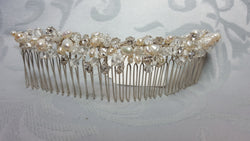 Beaded Embellished Hair Comb