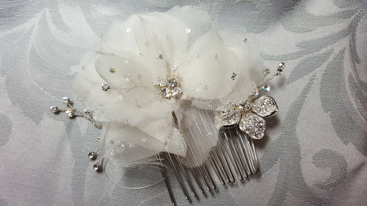 Pearl Crystal 9786 Hair Accessory