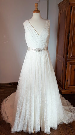 Carrafina Lace Ball Gown