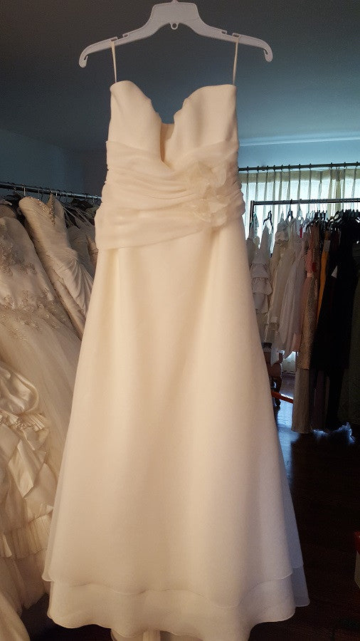 Mikaella A_line Wedding Dress