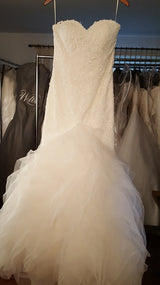 Trumpet Lace Wedding Dress by La Sposa