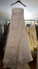 La Sposa Strapless A-Line Wedding Dress