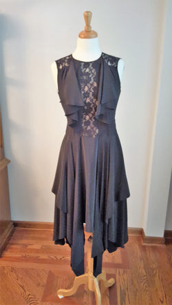 Fun Black Cacktail Dress