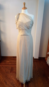 Amsale Dress Light Gray
