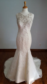 Kenneth Winston Stye 1612 Trumpet Wedding Dress