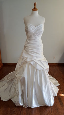 DaVinci 50185 Ball Gown Wedding Dress