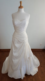 Carrafina A-Line MJB-1817 Wedding Dress