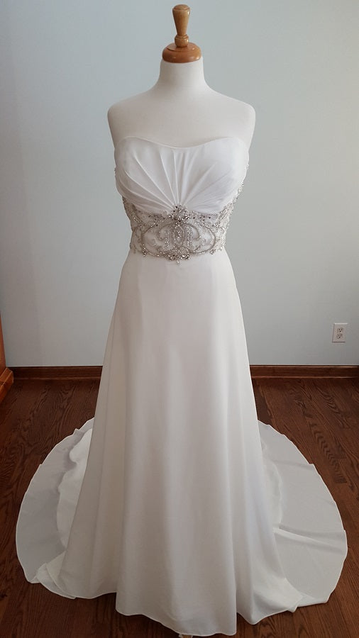 DaVinci A-Line 50365 Wedding Dress