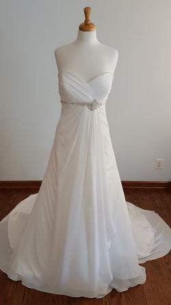 DaVinci A-Line 46538 Wedding Dress
