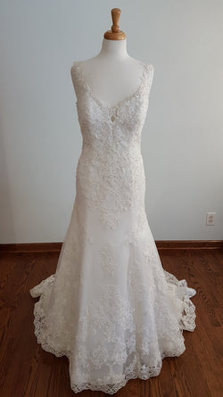 Kenneth Winston A-Line 1664 Wedding Dress