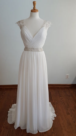Carrafina A-Line B32322 Wedding Dress