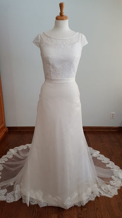 Carrafina A-Line 4189 Wedding Dress