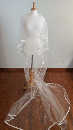 Ansonia Bridal Cathedral Veil