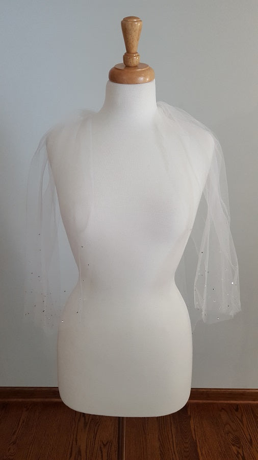 Giselle Bridals SP49 Fingertip Veil